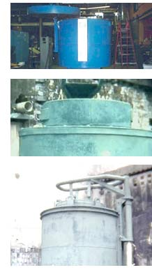 bell type annealing furnaces, rotary type furnaces, melting furnaces, gas nitriding furnaces